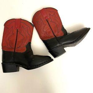 P's Cowboy Boots- 8